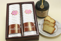 ブランデーケーキ 2本入り【冷蔵】